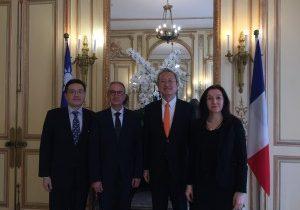 L'EMBA a l'Ambassade de Taïwan